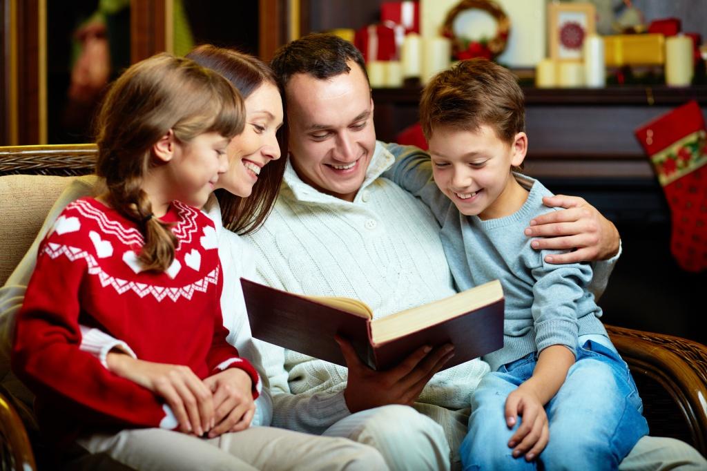 Конкурс чтецов «Мама, папа и я – читающая семья»