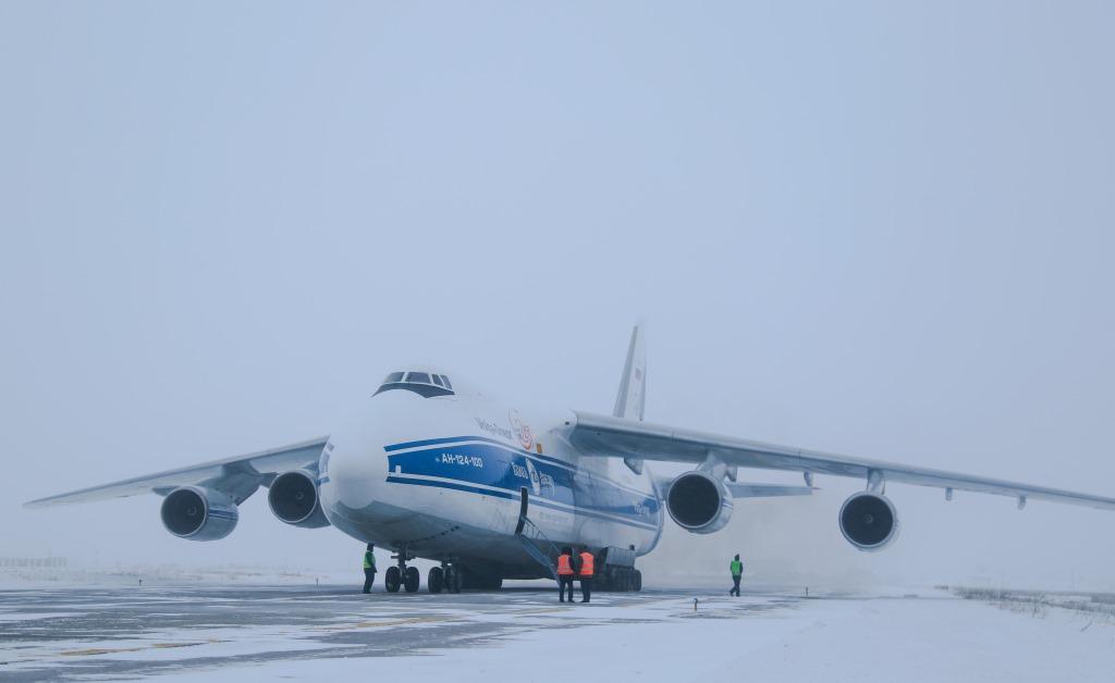 В аэропорт «Якутск» на испытание холодом прибыли вертолеты Ми-171А2