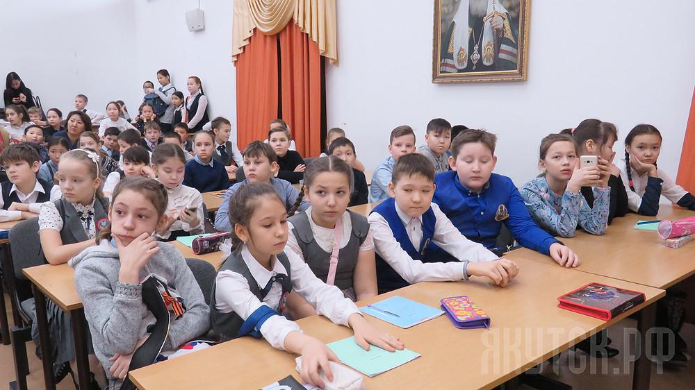 В Якутске проведена III городская олимпиада школьников по основам православной культуры