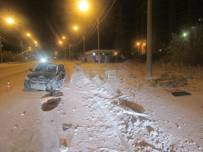 В Якутске по вине студента, не имеющего водительских прав, произошло ДТП