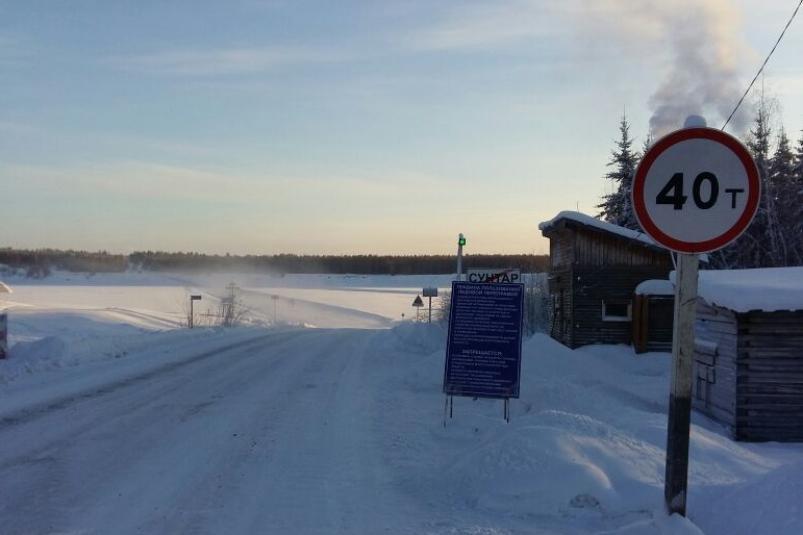 Увеличена грузоподъёмность на пяти ледовых переправах на ФАД «Вилюй» в Якутии