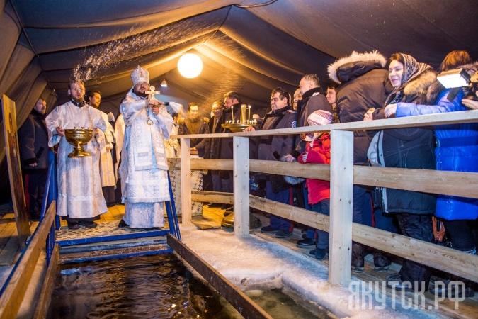 В Якутске готовятся развернуть Крещенскую купель