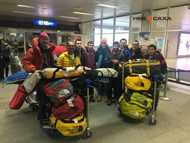 Легенда альпинизма Симоне Моро бросает вызов наивысшей горе Якутии
