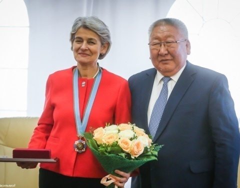 Экс-гендиректор ЮНЕСКО Ирина Бокова поблагодарила Егора Борисова за поддержку