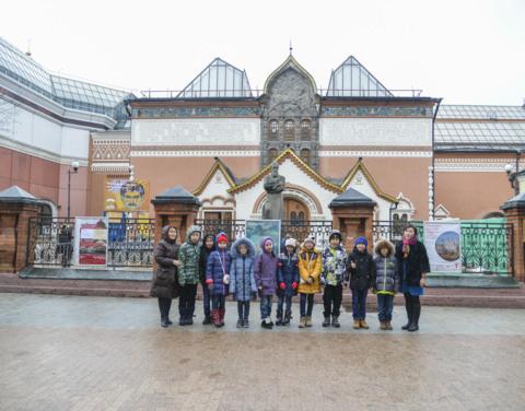 Дети из Якутии в новогодние каникулы побывали в Москве