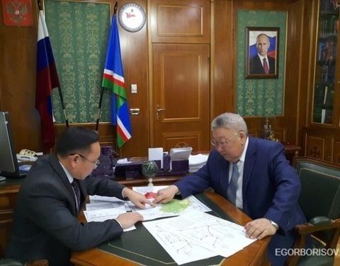 Первый зампред правительства Алексей Колодезников доложил главе республики о состоянии автозимников