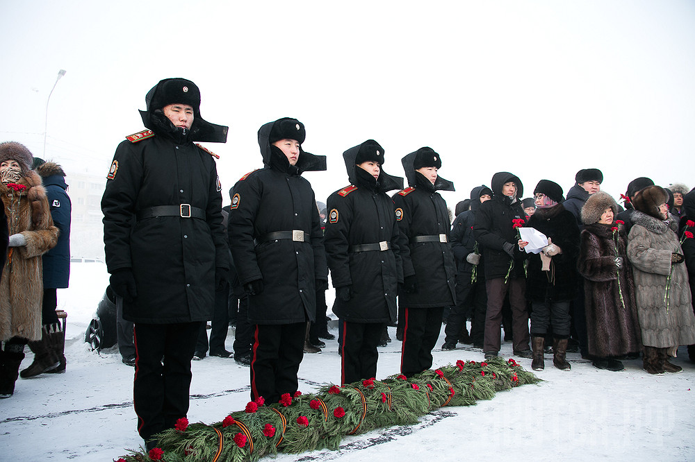 В Якутске отметили 75-летнюю годовщину разгрома немецко-фашистских войск в Сталинградской битве