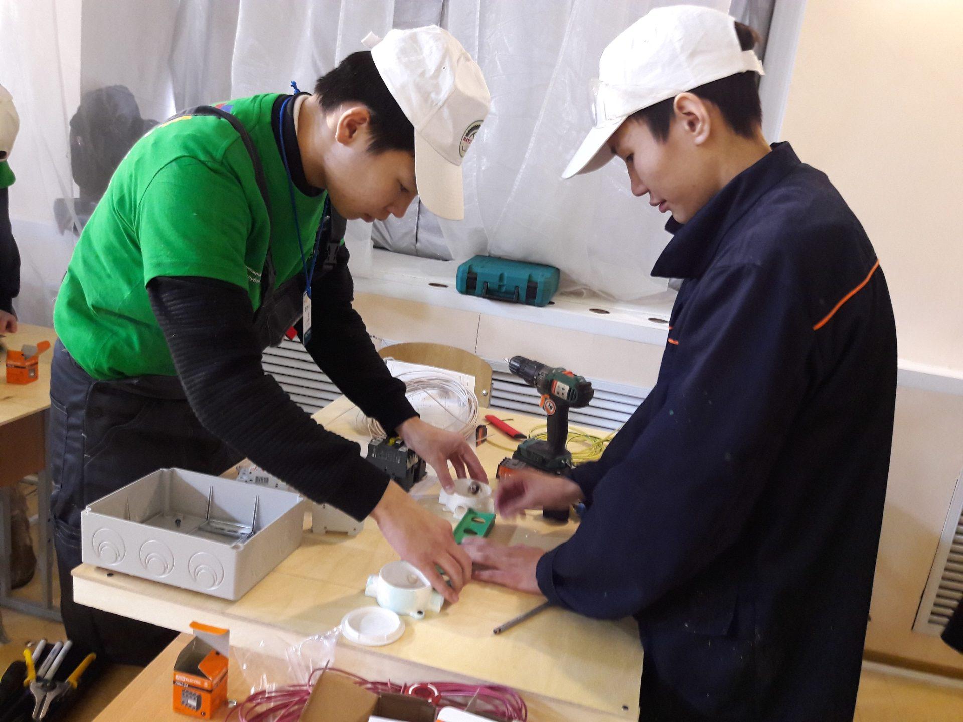 III Региональный чемпионат JuniorSkills: электромонтажные работы