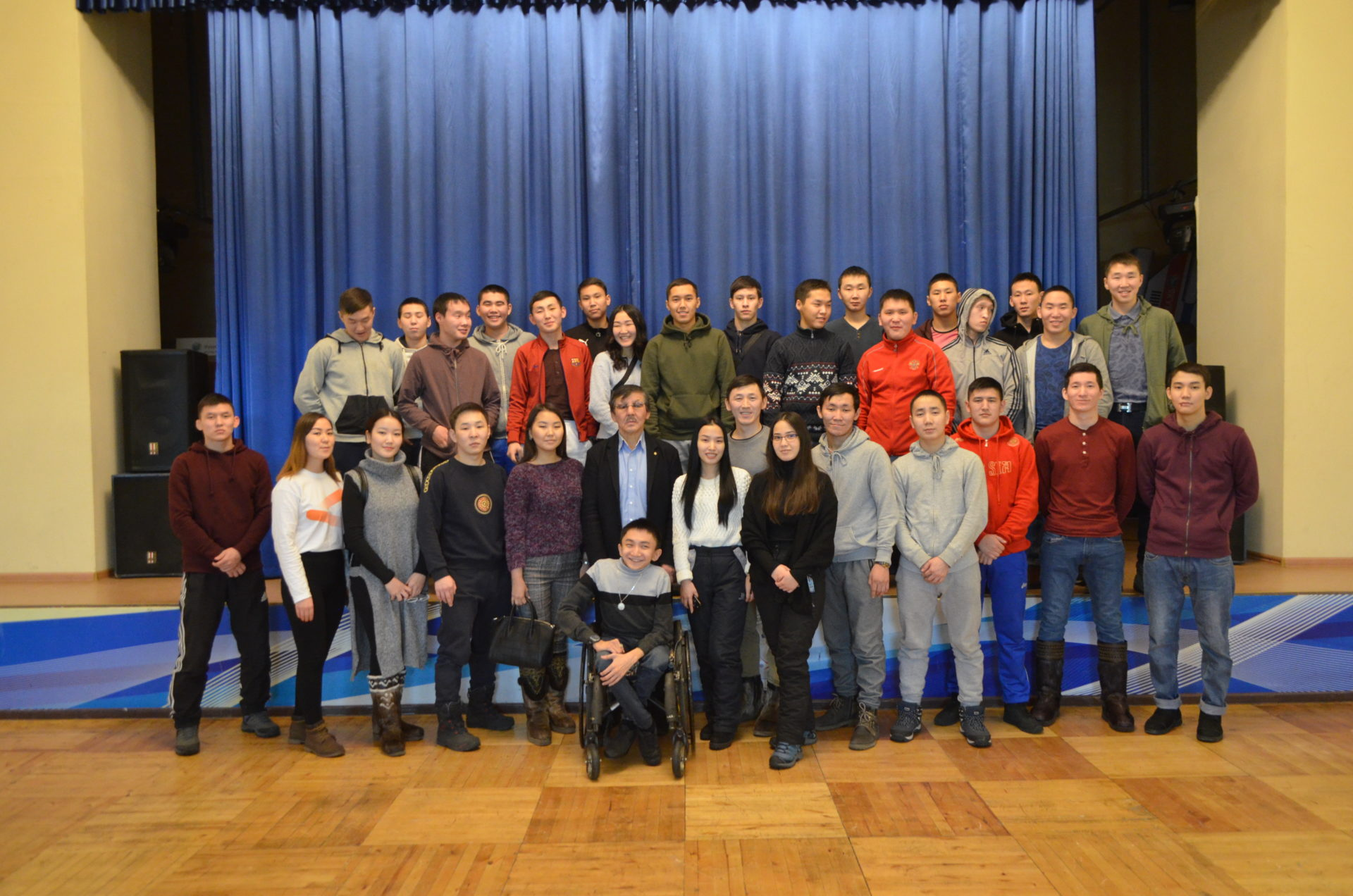 Павел Пинигин встретился с якутской молодежью