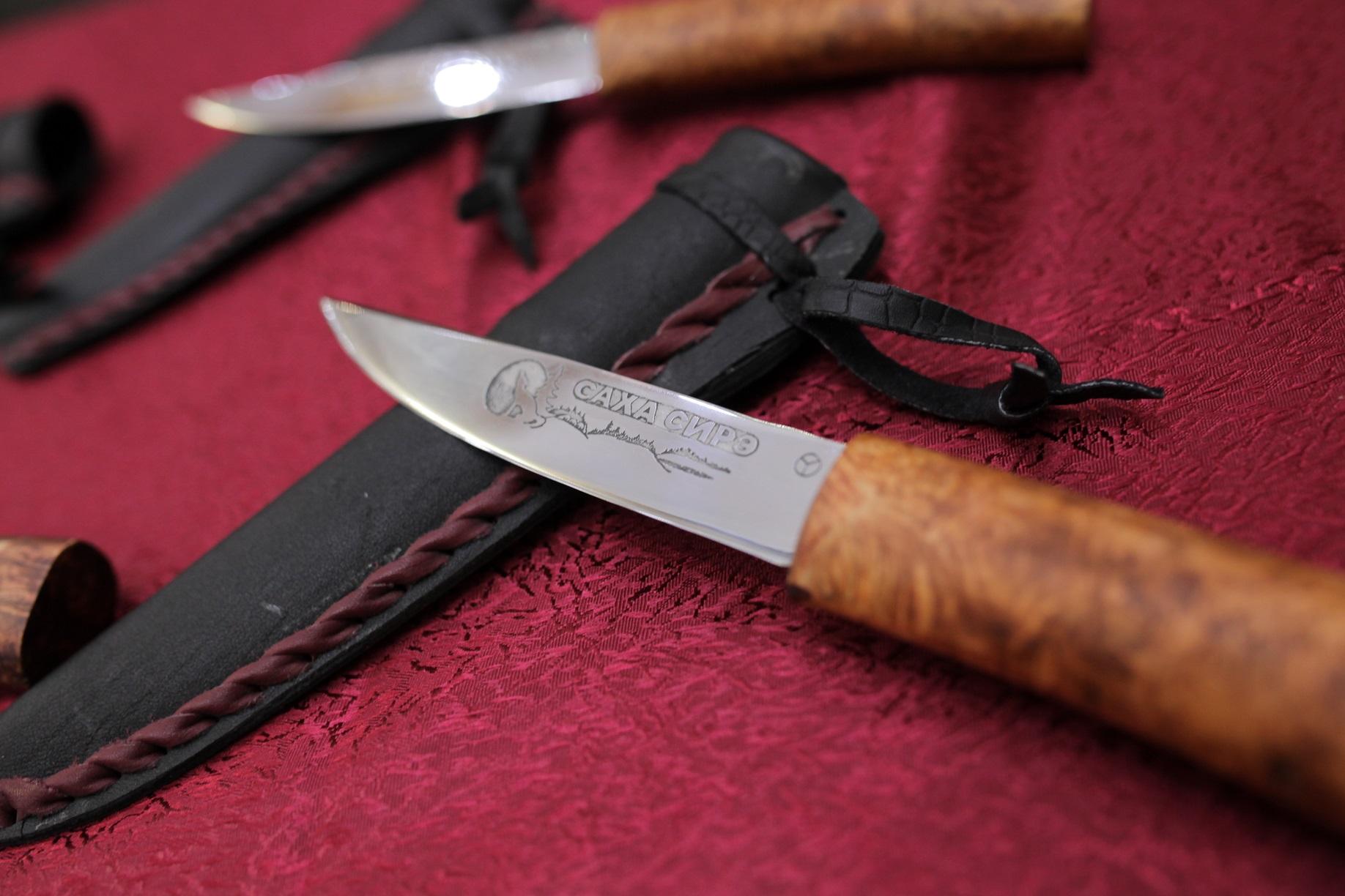 Лучшие в мире ножи определили на выставке кузнецов «Дархан Уус»
