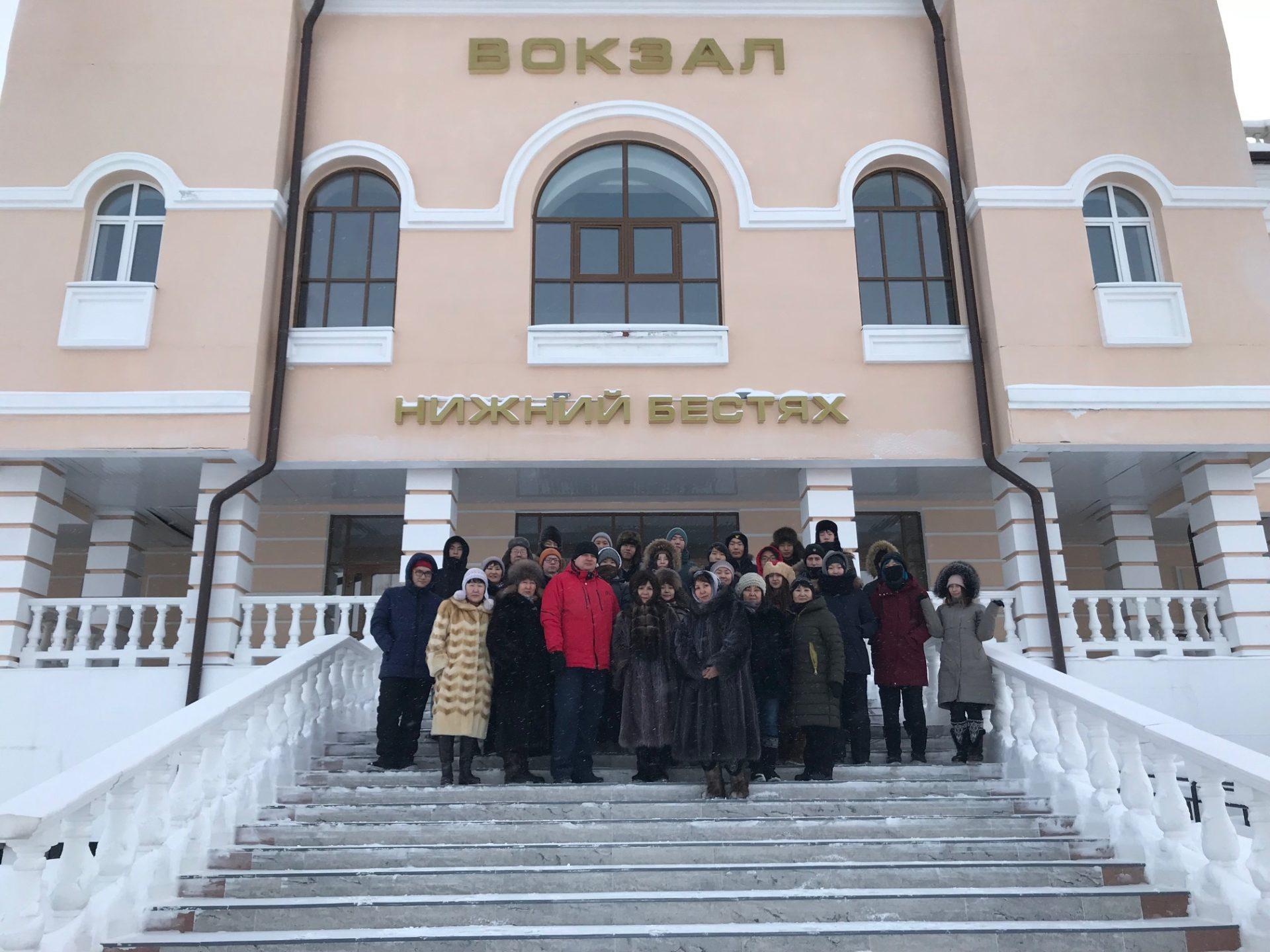Десятиклассники из Физико-технического лицея им. В.П. Ларионова посетили станцию Нижний Бестях