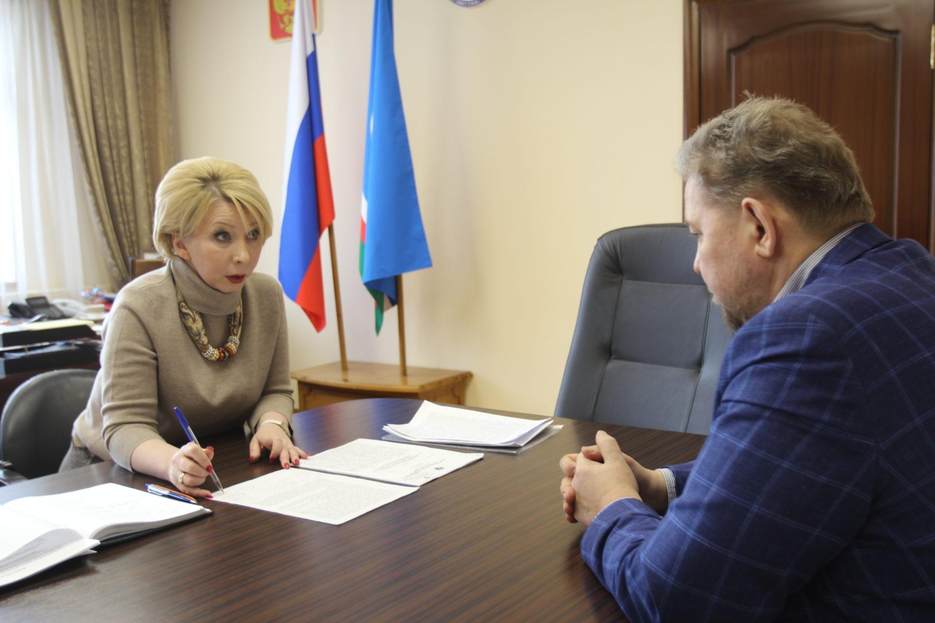 Ольга Балабкина встретилась с руководителем Ленского территориального управления Росрыболовства