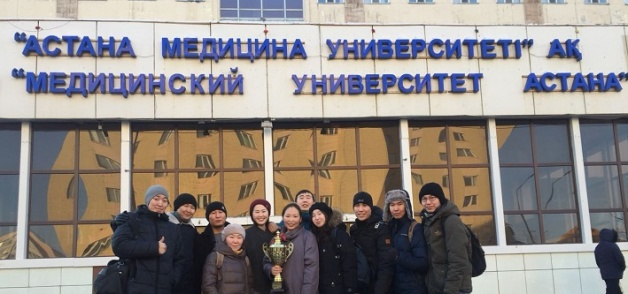 Студенты-хирурги СВФУ победили на международной олимпиаде в Казахстане