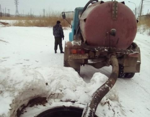 В Якутске оштрафованы водители ассенизаторов