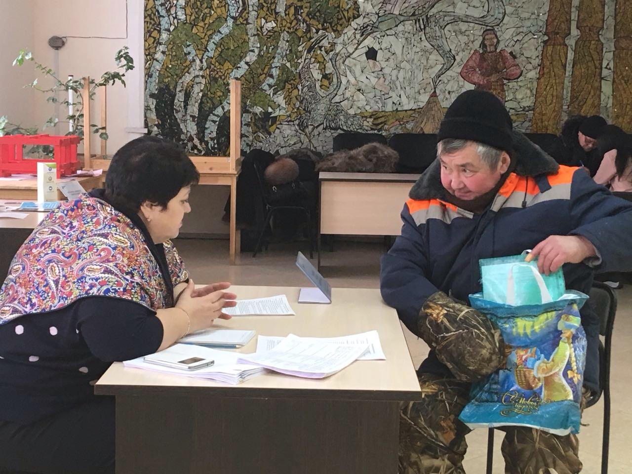 В Тулагино и в Кангалассах прошли Дни занятости населения