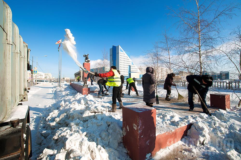 В Якутске с 1 марта стартует санитарный трехмесячник