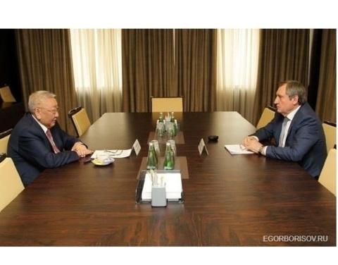 Рабочая встреча главы Якутии с председателем правления – генеральным директором «РусГидро»