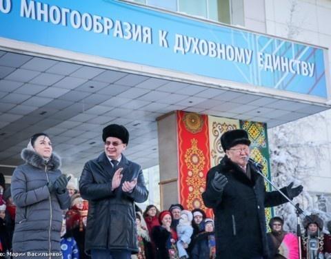 Глава Якутии передал эстафету акции «ПроРФ: Про Россию! Про тебя» Волгоградской области