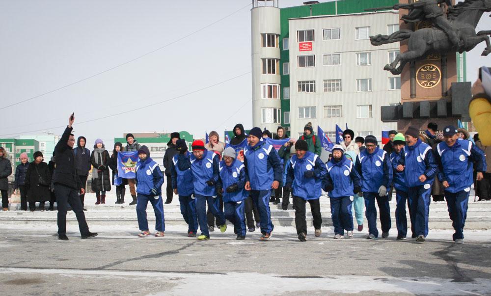 Проект «Историческая память»: Дан старт пробегу «Якутск – Магадан»
