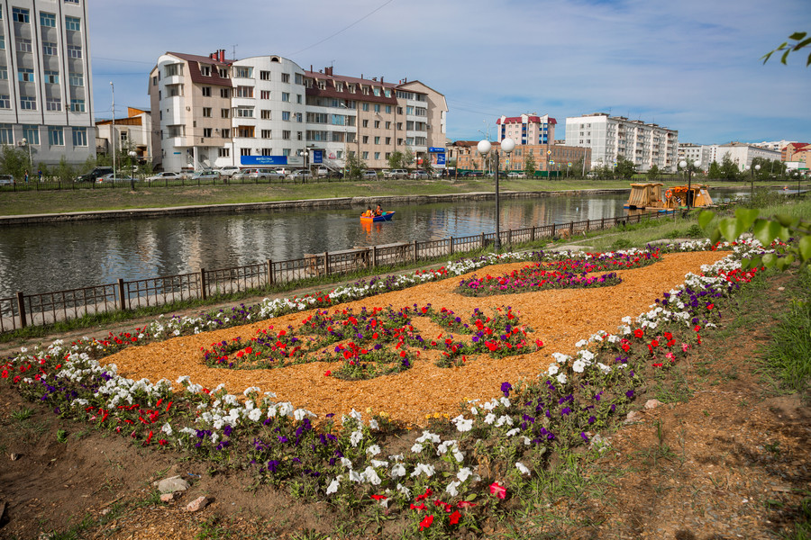 В Год новаторства продолжатся мероприятия по направлению «Цветущий Якутск»