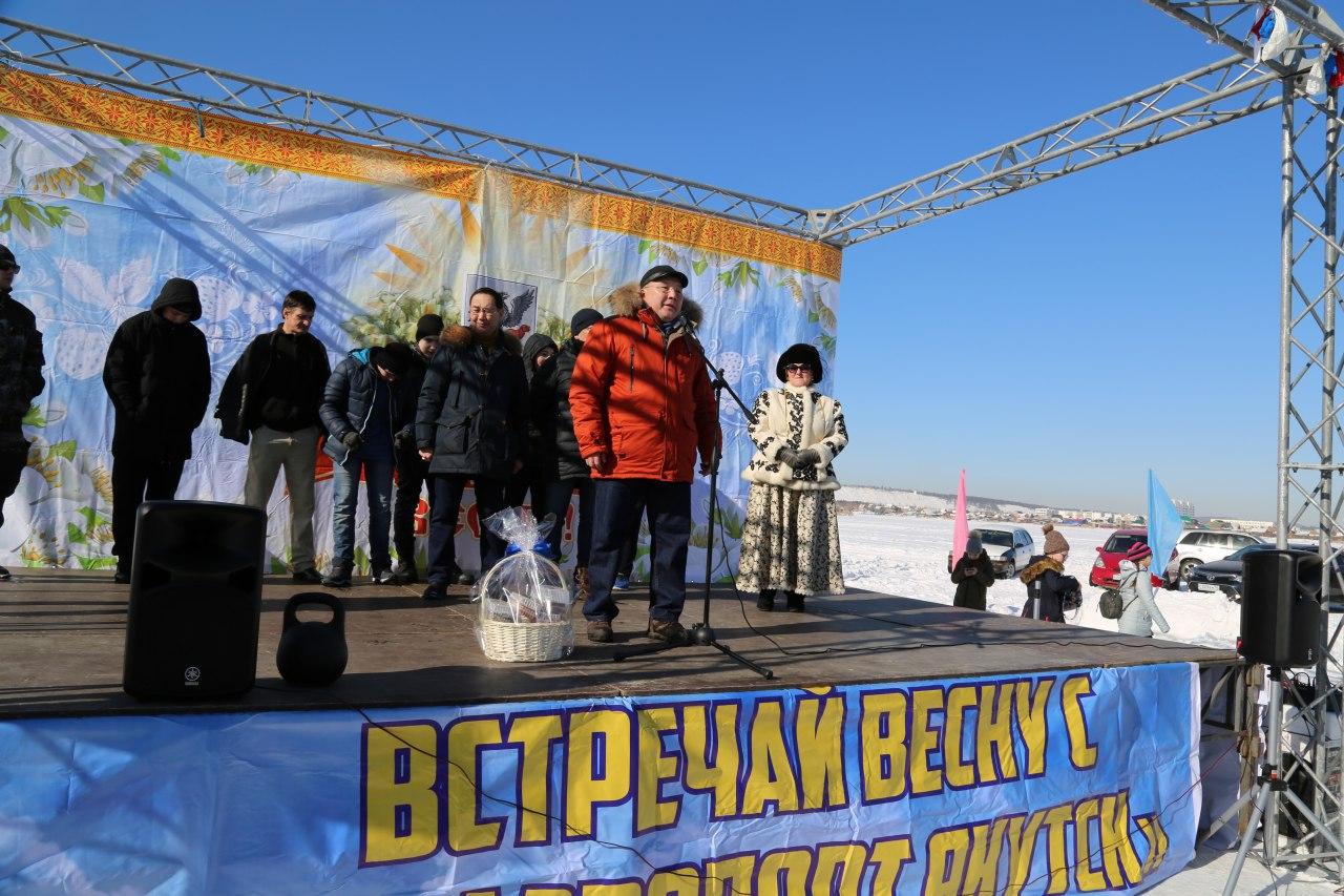Аэропорт «Якутск» организовал для горожан проводы зимы