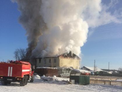 Устанавливаются обстоятельства гибели женщины при пожаре в поселке Эльдикан