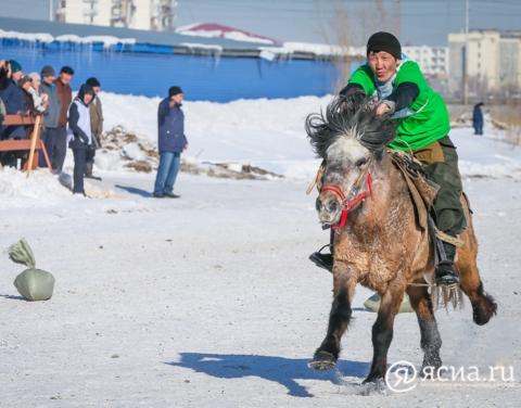 Якутские лошади примут участие в конном пробеге