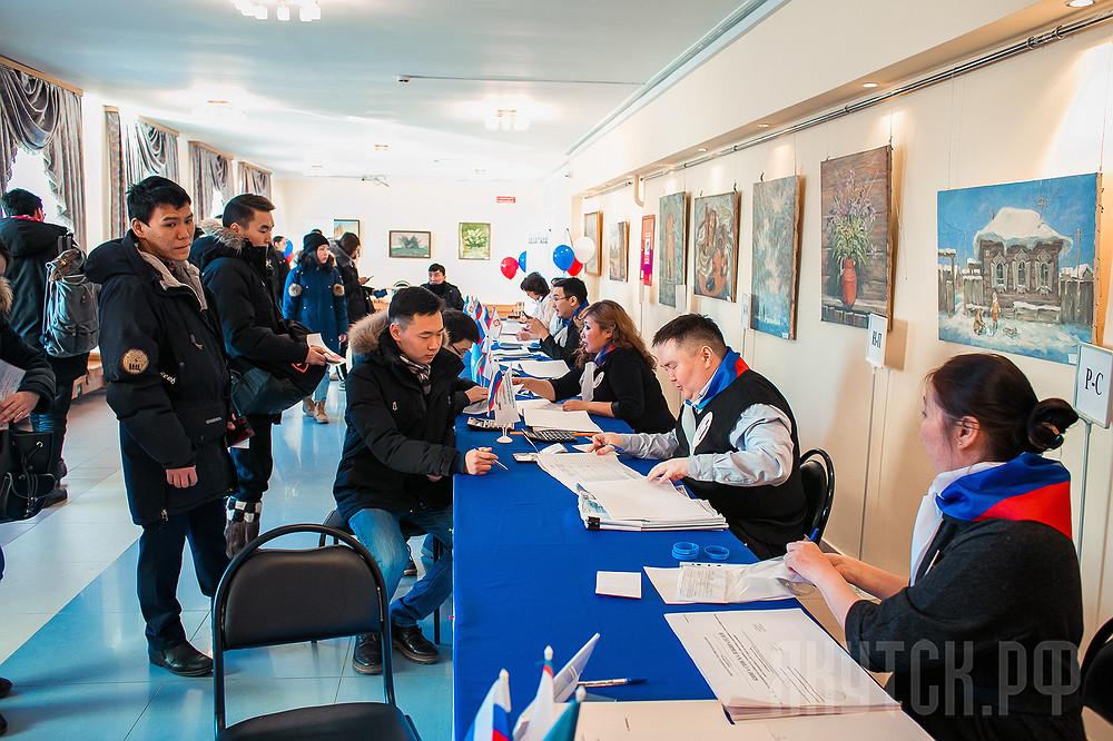 Якутская ТИК: проголосовали более 97 тысяч якутян