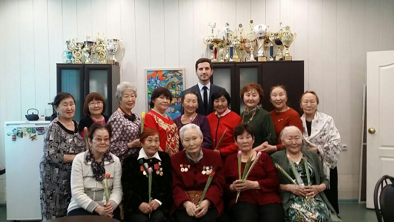 Руководитель Центрального округа встретился с активистами Совета ветеранов