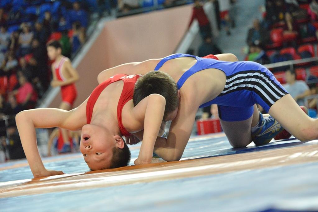 С 28 марта по 1 апреля в ЦСП «Триумф» проводится Открытый Международный турнир по вольной борьбе