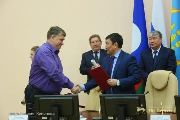 Главы пяти муниципальных районов республики подписали соглашение о сотрудничестве с ООО «УК «Колмар»