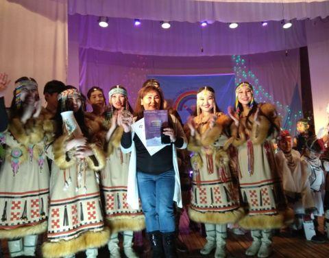 Танцевальный коллектив «Эрэлчээнэ» – обладатель Гран при фестиваля «Северная радуга»!