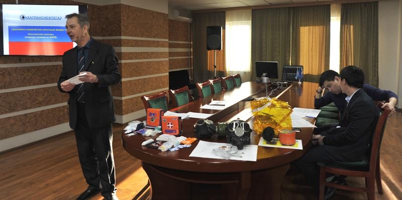 В «Сахатранснефтегазе» прошли занятия по гражданской обороне