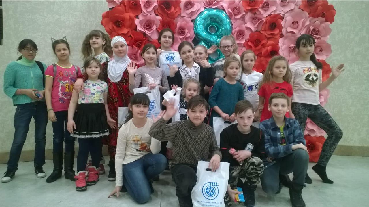 Ассоциация строителей АЯМ организовала праздник для Алданской детворы
