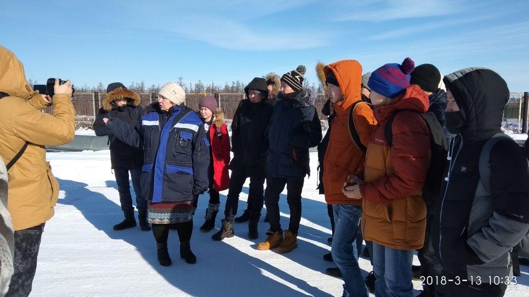 Школьники Намского улуса посетили Якутский газоперерабатывающий завод