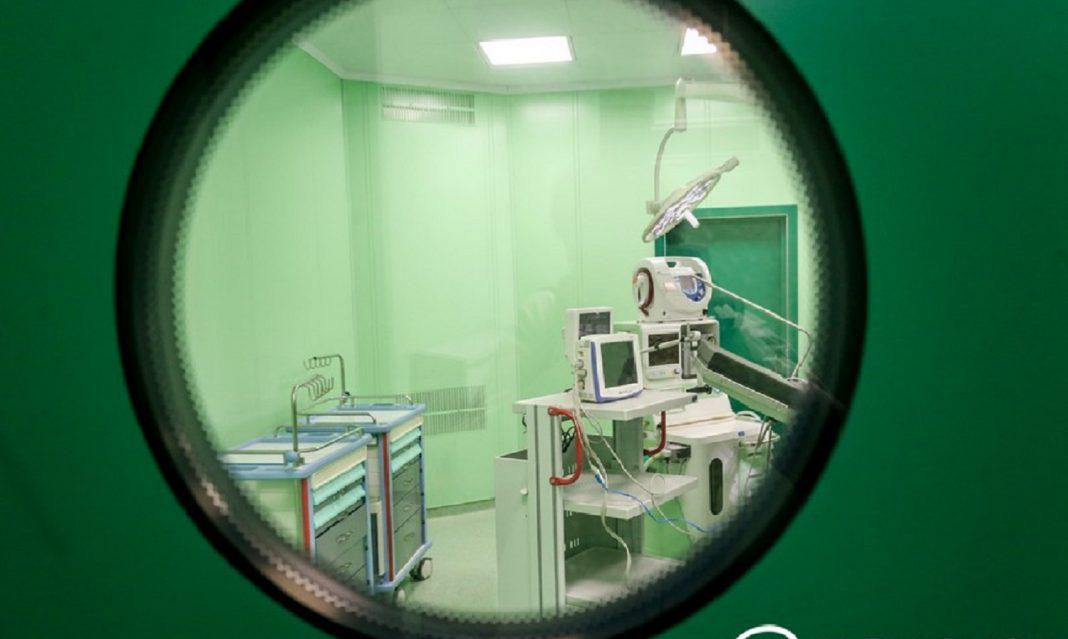 Сегодня в 12:15 ч. в новом перинатальном центре появился на свет первый младенец!