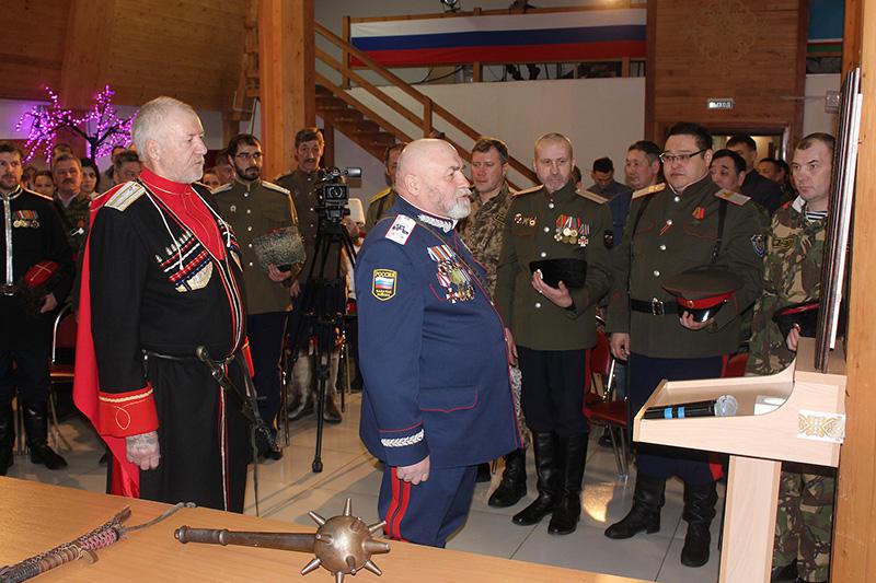 Якутский казачий полк провел отчет о деятельности за 2017 год