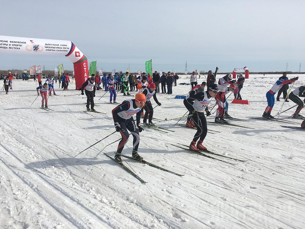 В Якутске пройдет открытый Чемпионат по лыжным гонкам