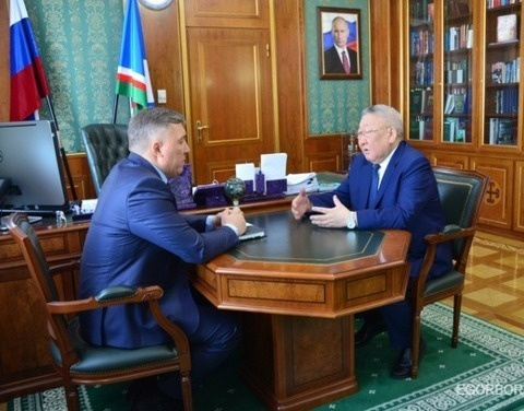 Егор Борисов поставил задачи перед новым главой министерства экономики республики
