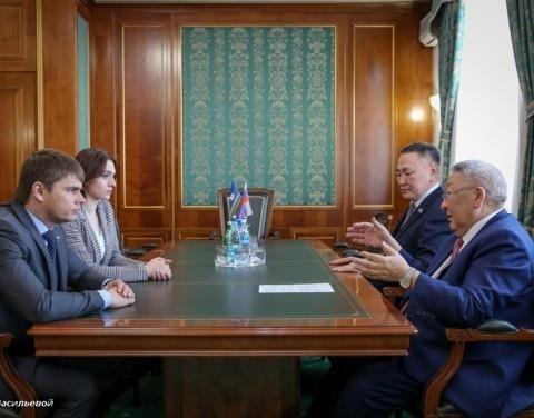 Егор Борисов обсудил с депутатом Госдумы Сергеем Боярским вопросы охраны окружающей среды в Якутии