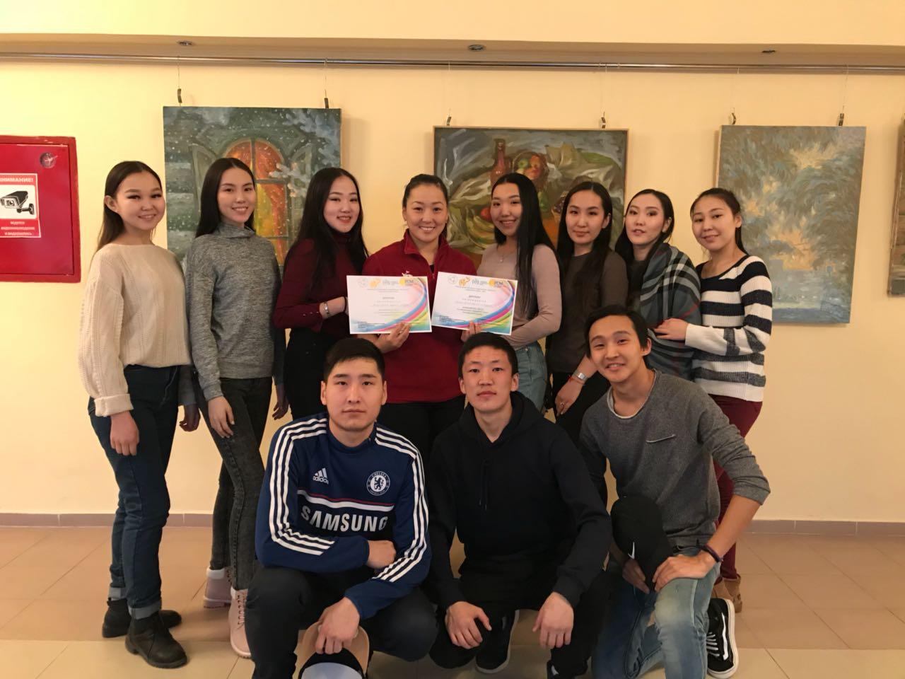 В КЦ СВФУ «Сергеляхские огни» состоялся фестиваль творчества студенческой молодежи