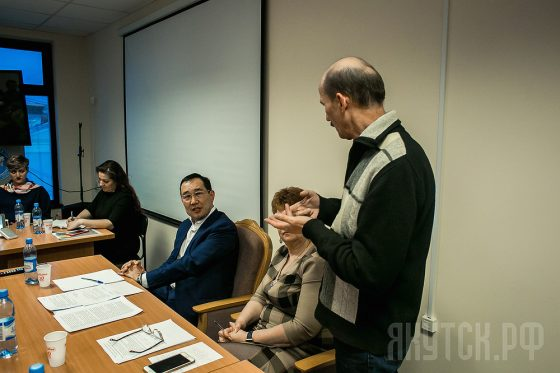 Диалог с бизнесом: глава Якутска встретился с предпринимателями