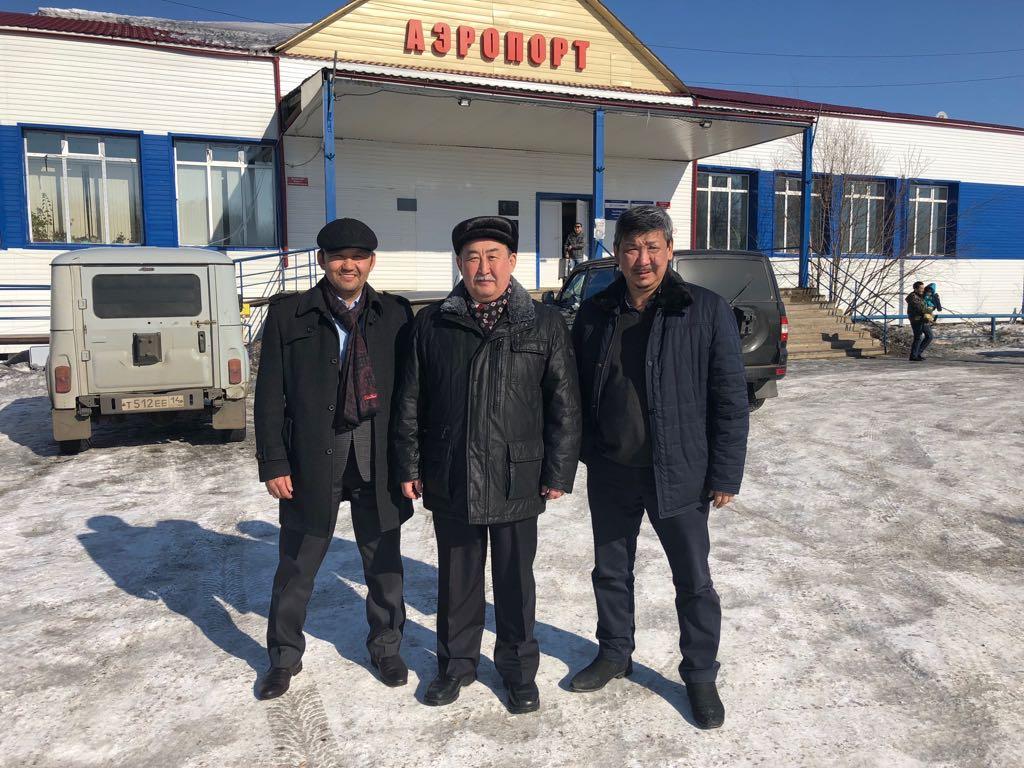 В Нюрбу вернулся Попов