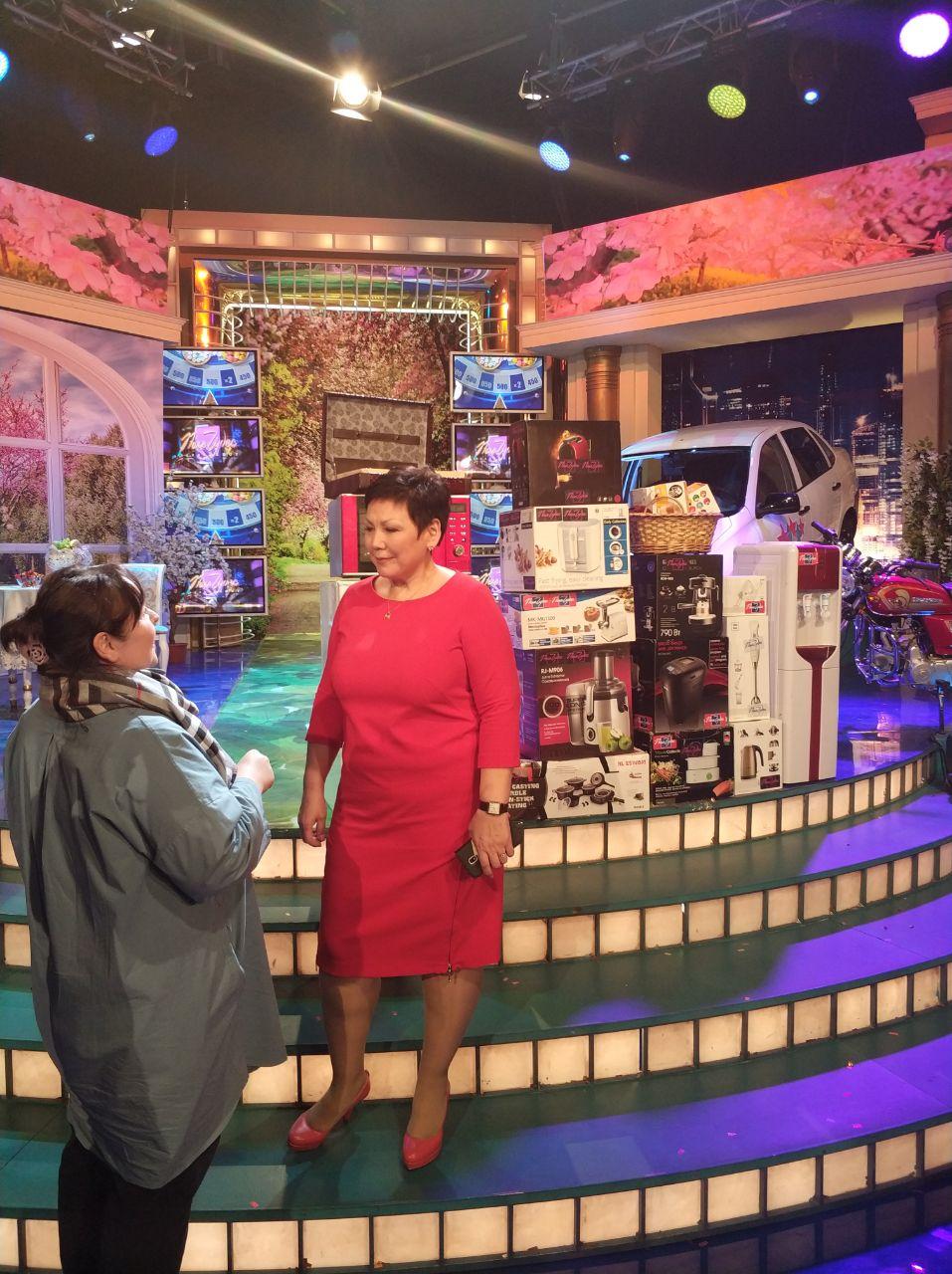 Якутянка участвовала в телеигре «Поле чудес»
