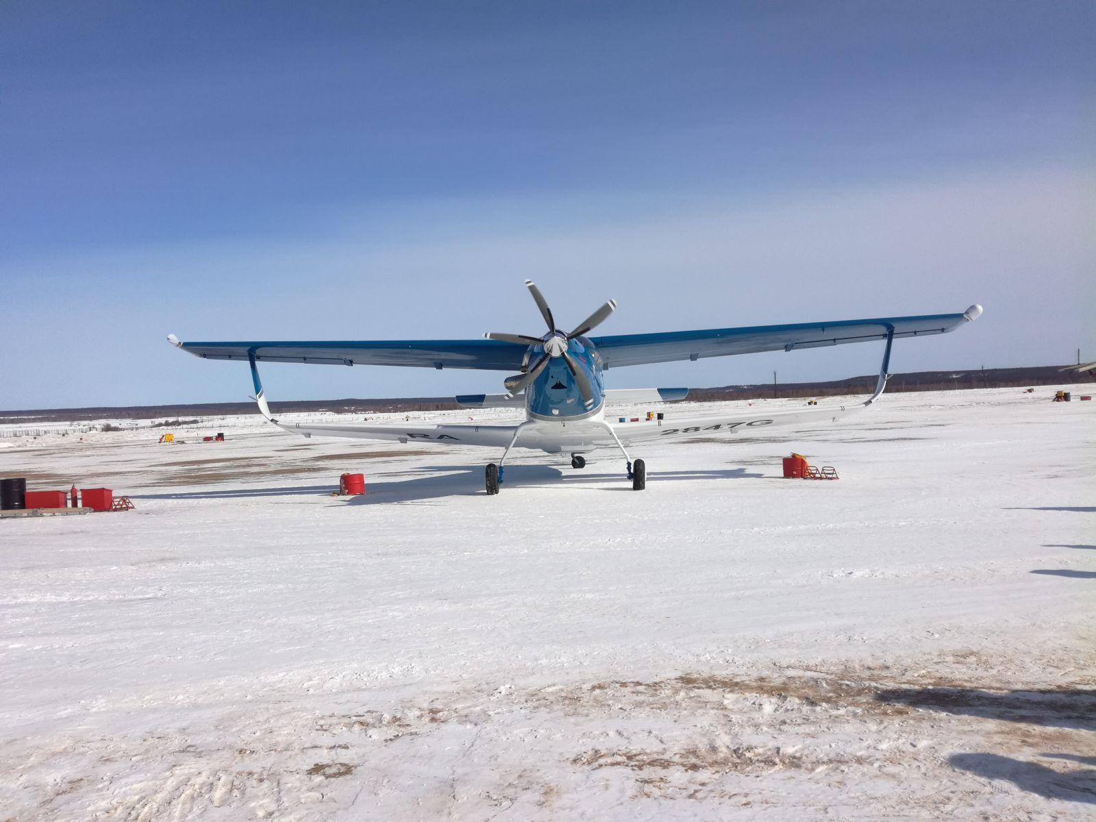 В Якутске презентован первый опытный образец самолета ТВС-2ДТС