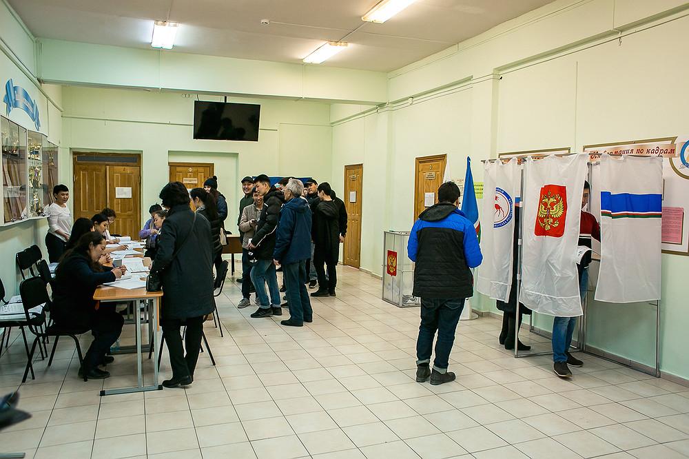 Избиратели Якутска выбрали кандидатов в гордуму и Ил Тумэн