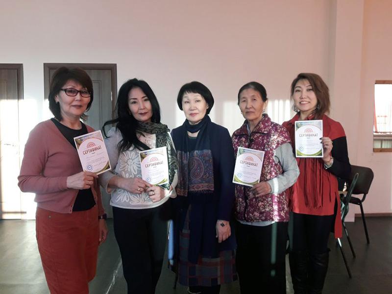17 человек посетили курсы обучения народному пению