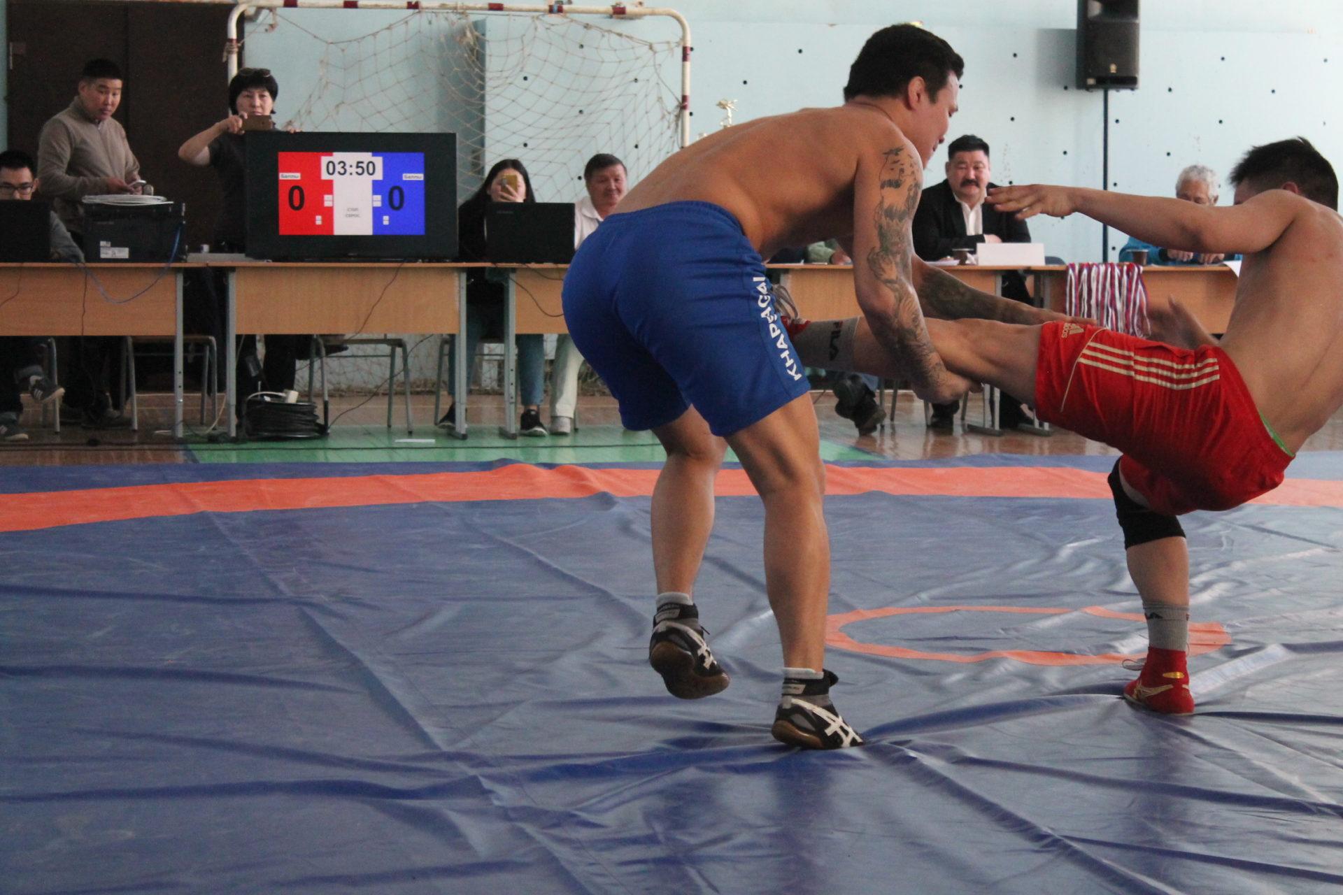 Кубок СПО по борьбе «Хапсагай» получил борец из Оленекского района