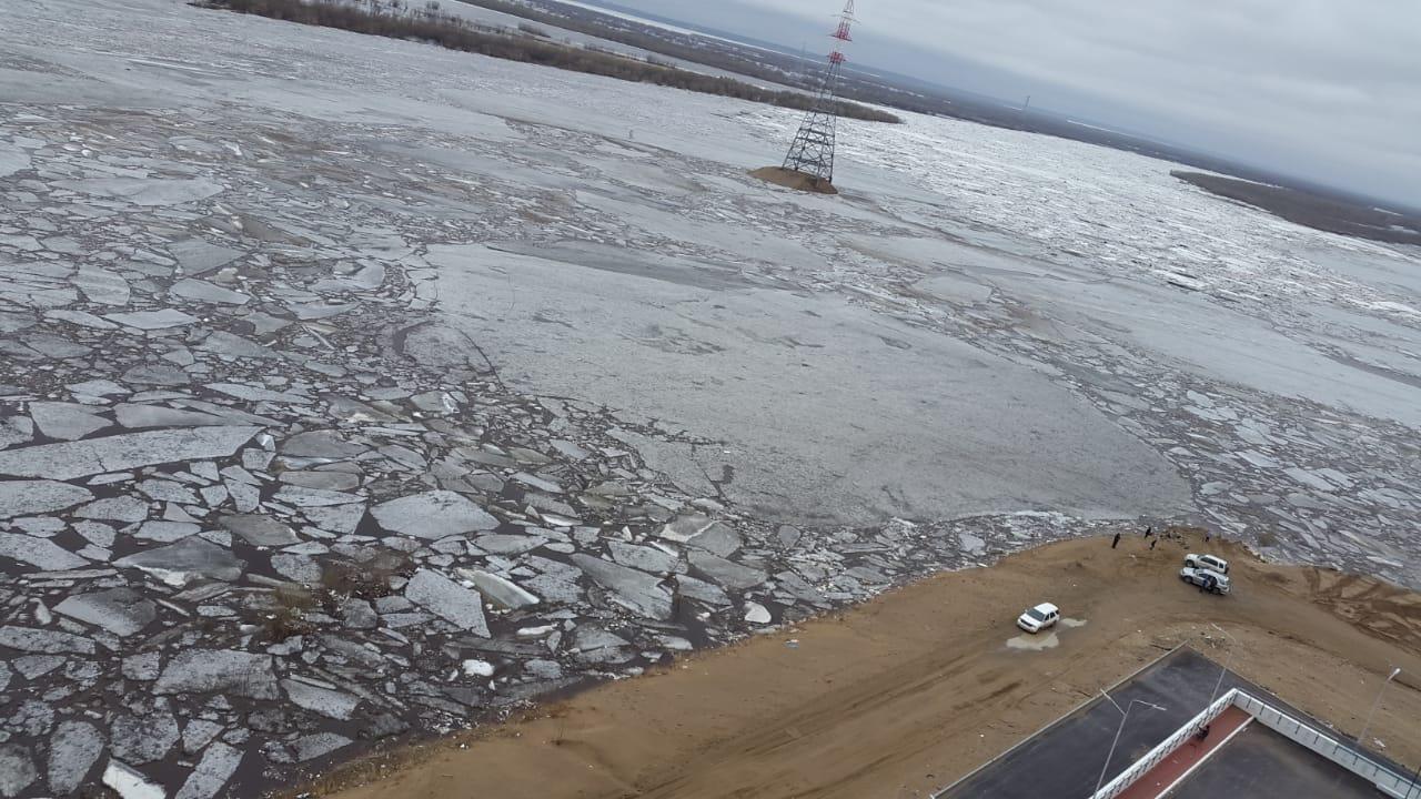 Паводковая обстановка на территории Якутска на 17.00 часов