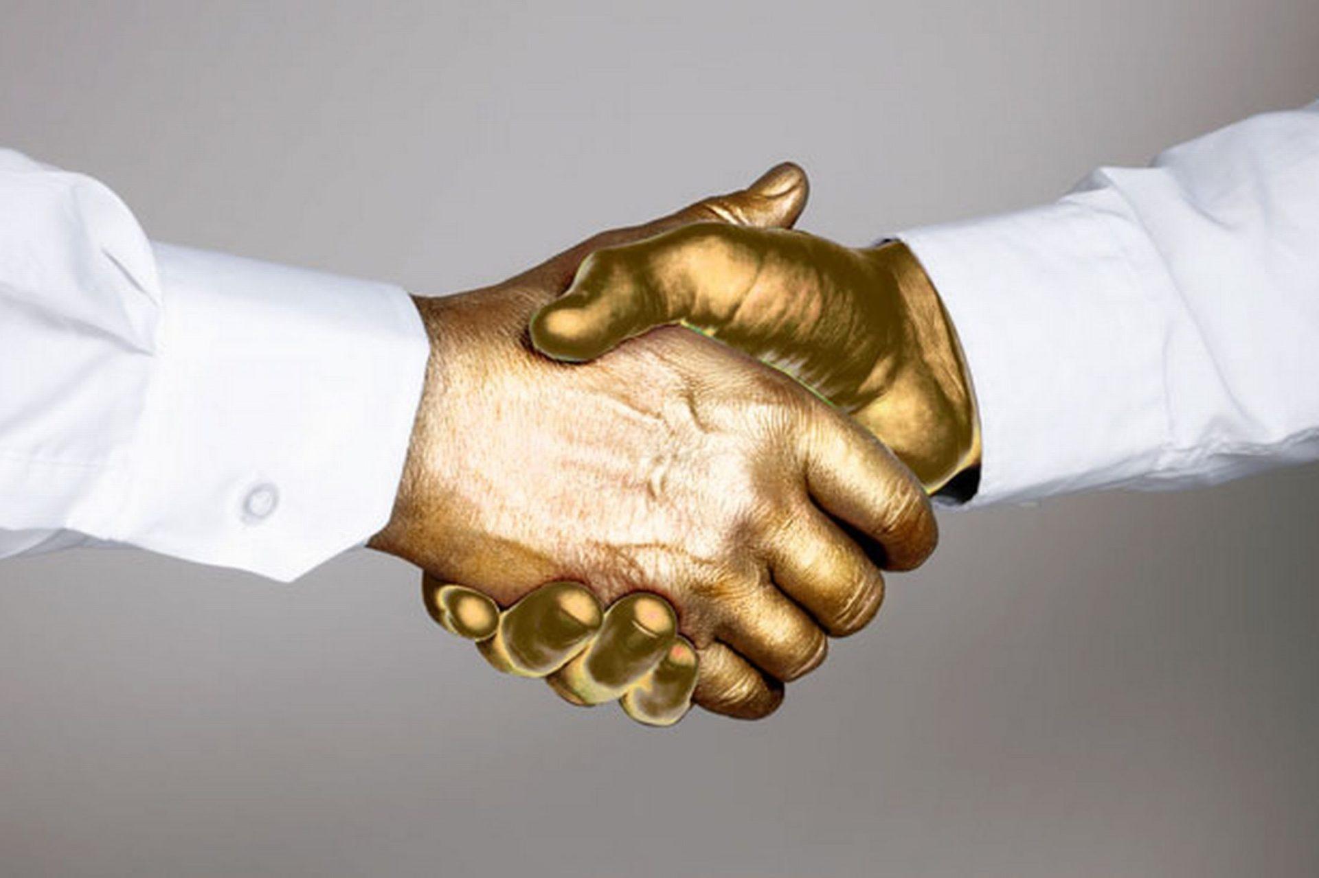 «Золотое рукопожатие»?